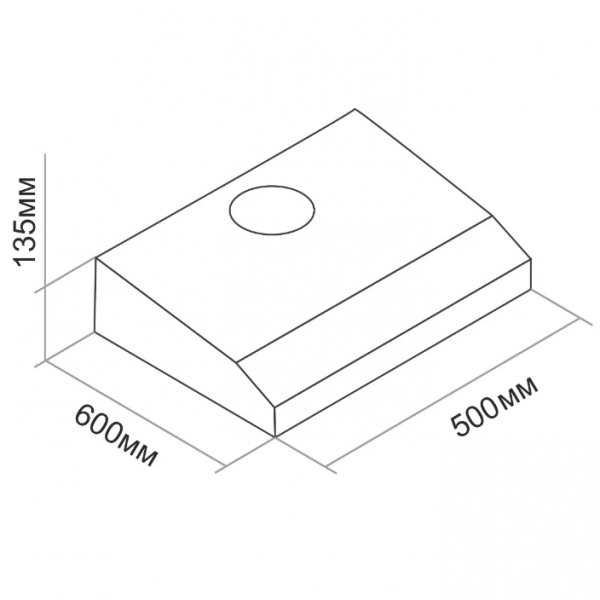 Воздухоочиститель плоский Darina FLAP 501Х 50*50 3 ск. нерж.сталь