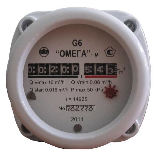 Cчетчик газа G4 (РЛ) OMEGA