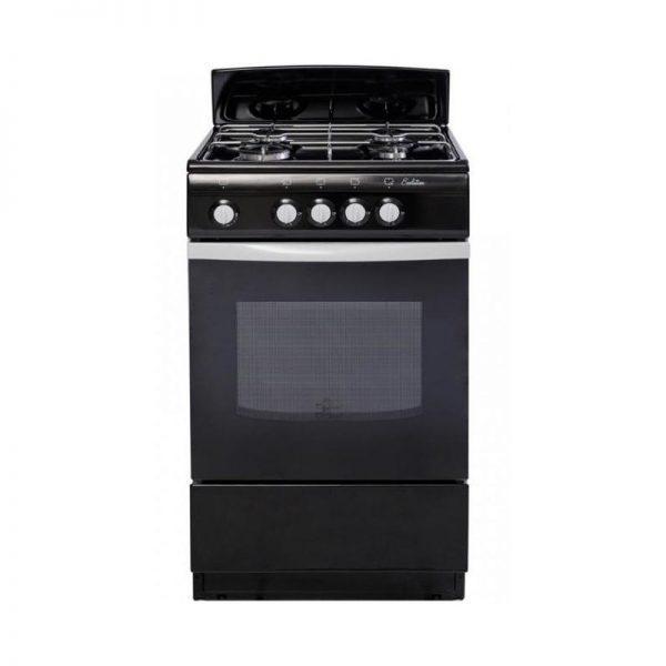 Плита De Luxe газовая 5040.38г щиток (черная)